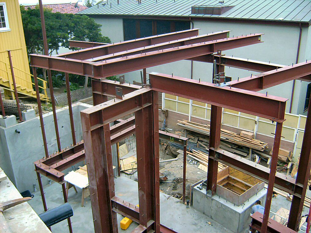 Precision design fabricating structural steel projects for Structural steel home designs